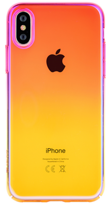 Devia Aurora Case for iPhone Xs - Pink (without packaging)
