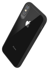 Sdesign Vokamo Stect Case for iPhone Xr - Clear with black frames