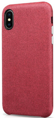 Sdesign Fabric Edition case for iPhone X | Xs - Red