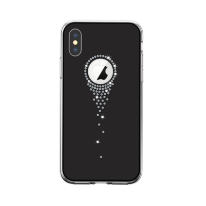 Devia Angel Tears Series Crystal Case for iPhone X  - Black