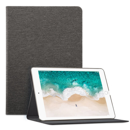 "Sdesign case with Apple pencil holder for NEW iPad 9.7"" 2017/2018 - Grey"