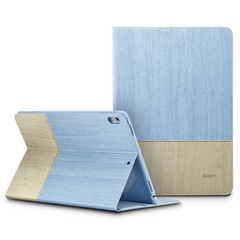 "Sdesign case with Apple pencil holder for NEW iPad 9.7"" 2017/2018 - Blue/Beige"
