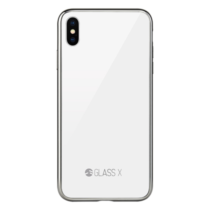 Switcheasy Glass Case for iPhone X/Xs - Clear