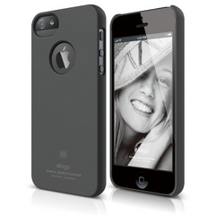 S5 Slim Fit Case - Soft Feeling Dark Gray