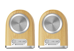 Ovevo D10 Wireless Bluetooth Speaker Wood Color