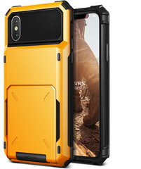 Verus Damda Folder Series case for iPhone X/Xs - Volcano Yellow