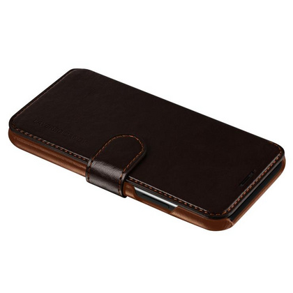 Verus Layered Dandy Series case for iPhone X/Xs - Coffee Brown