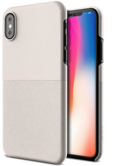 Verus Skin Fit Series case for iPhone X/Xs - Light Pebble