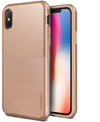 Verus High Pro Shield Series case for iPhone X/Xs - Blush Gold