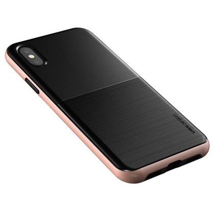 Verus High Pro Shield Series case for iPhone X/Xs - Black Rose