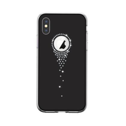 Devia Angel Tears Series Crystal Case for iPhone Xr - Black