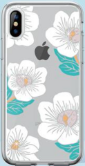 Devia Camellia Case for iPhone X - Transparent