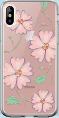 Devia Camellia Case for iPhone X - Pink