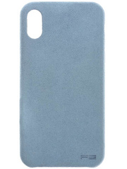 Power Support Ultrasuede Case for iPhone X  - Sky