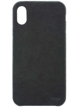 Power Support Ultrasuede Case for iPhone X  - Dark Grey