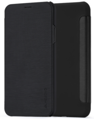 Meleovo Smart Flip Case for iPhone 7 - Black