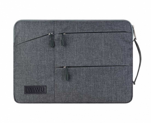 "Wiwu Pocket Sleeve for 13.3"" Macbook - Grey"