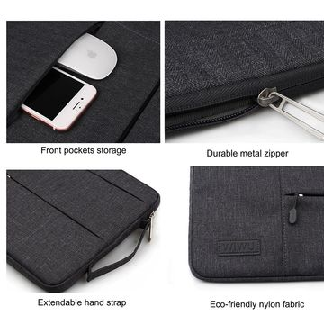 "Wiwu Pocket Sleeve for 13.3"" Macbook - Black"