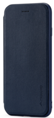 Meleovo Napa Flip Case for iPhone 7/8 - Dark Blue