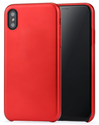 Meleovo Pure Gear Case for iPhone X - Red