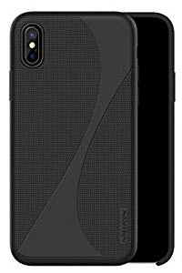 Nillkin Flex Liquid Silicone Case for iPhone X/Xs - Black