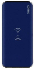 IDMIX Q8 PD2.0 Wireless Fast Charging 8000 mAh Powerbank and Wireless Charger - Blue