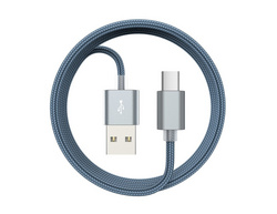 Devia Gracious USB to Type-C Cable 1.5M - Silver
