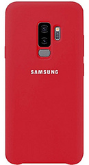 Sdesign Silicone case for Samsung Galaxy S9 Plus - Red