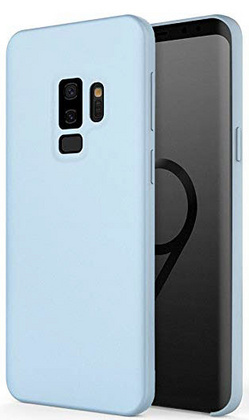 Sdesign Silicone case for Samsung Galaxy S9 Plus - Sky Blue