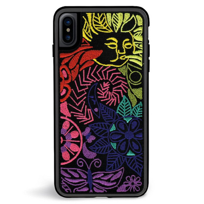ZG Embroidered Case for iPhone X/Xs - Brite