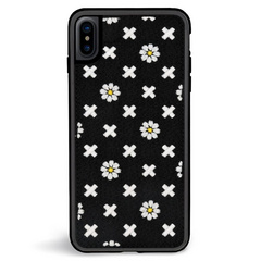 ZG Embroidered Case for iPhone Xs Max - Daisy