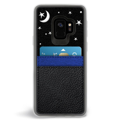 ZG Embroidered Case for Galaxy S9 - Night