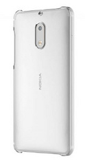 Mozo Crystal Back Case for Nokia 6 - Clear