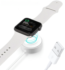 Devia Magnetic Charger for Apple Watch - White