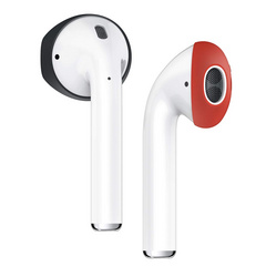 Elago Airpods Secure Fit Cover - Black/Red
