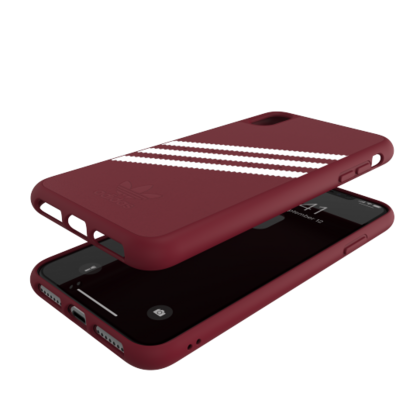 Moulded Case PU SUEDE (Red)