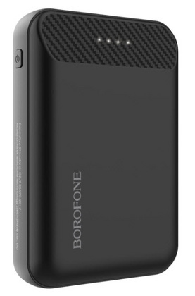 Borofone Mini Power Bank 10.000 mAh - Black