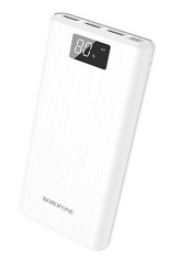 Borofone Power Bank 30.000 mAh - White