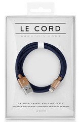 Le Cord Masterpiece Deep Blue - 1.2m