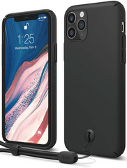 ELAGO Slim Fit Strap Case for iPhone 11 PRO Max - Black