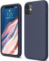 ELAGO Silicone Case for iPhone 11 - Jean Indigo