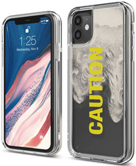 ELAGO Sand Case for iPhone 11 - Caution