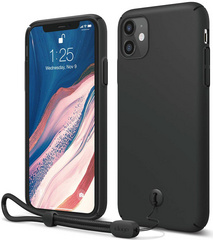 ELAGO Slim Fit Strap Case for iPhone 11 - Black