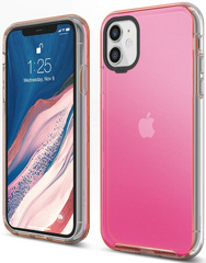 ELAGO Hybrid Case for iPhone 11 - Neon Pink