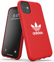 Adidas Moulded Case for iPhone 11 - Red