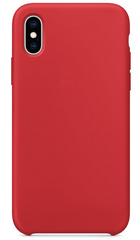Original Silicone Case for iPhone Xs - Red