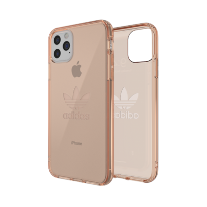 Adidas Clear Case for iPhone 11 PRO - Pink