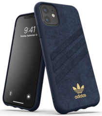Adidas Moulded PU Case for iPhone 11 - Blue
