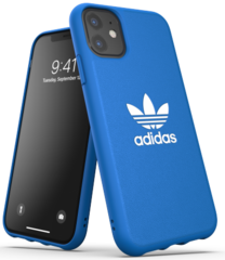 Adidas Moulded Case for iPhone 11 - Light Blue