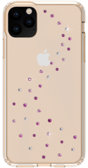 BMT Milky Way Clear case for iPhone 11 PRO - Rose Sparkles